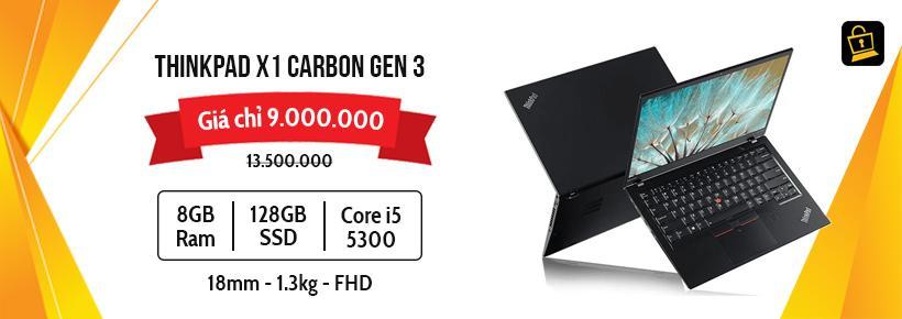 ThinkPad X1 Carbon Gen 3}